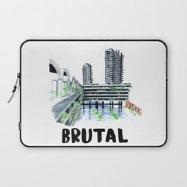 Brutal Barbican View Laptop Sleeve