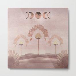 Moon Salutation - Imaginary Landscape V. Metal Print