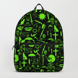 Buffy Symbology, Green Backpack