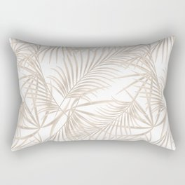Palm leaves 4. Rectangular Pillow