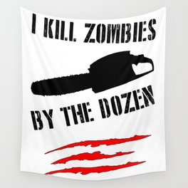 zombie funny Wall Tapestry