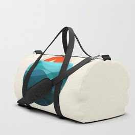 Deep blue ocean Duffle Bag