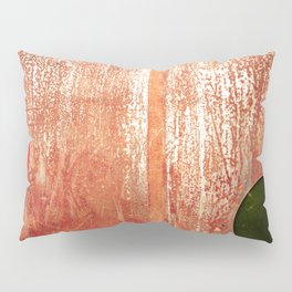 Metallic Face (Red Version) Pillow Sham