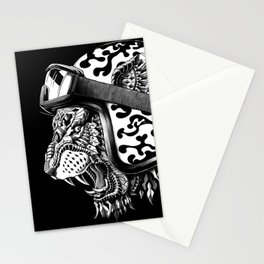 Tiger Helm Stationery Cards
