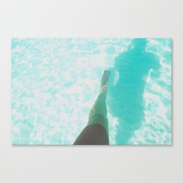 Step into Ocean Canvas Print