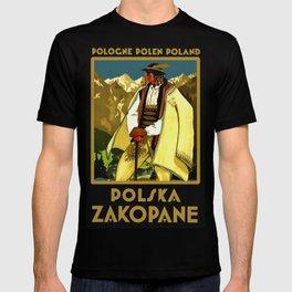 Zakopane Poland - Vintage Travel T-shirt