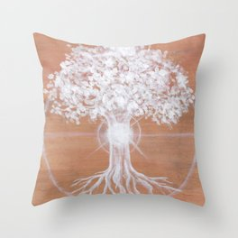 Dreaming of Sundogs Throw Pillow
