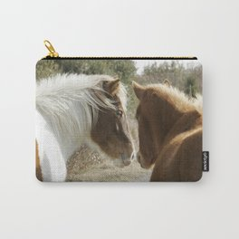 Horse Conversations Carry-All Pouch