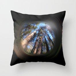 backwoods Throw Pillow