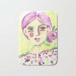 Lavender Lady Bath Mat