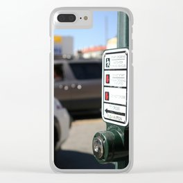 Push Button Clear iPhone Case