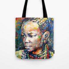 She - portrait of a beautiful woman Tote Bag