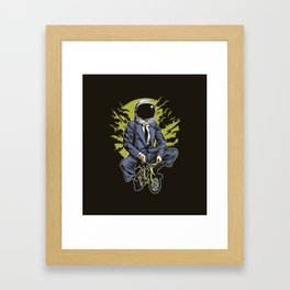 Astrobike Framed Art Print