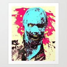 Pop Zombie Art Print