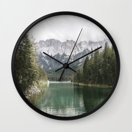 Looks like Canada - landscape photography Wall Clock