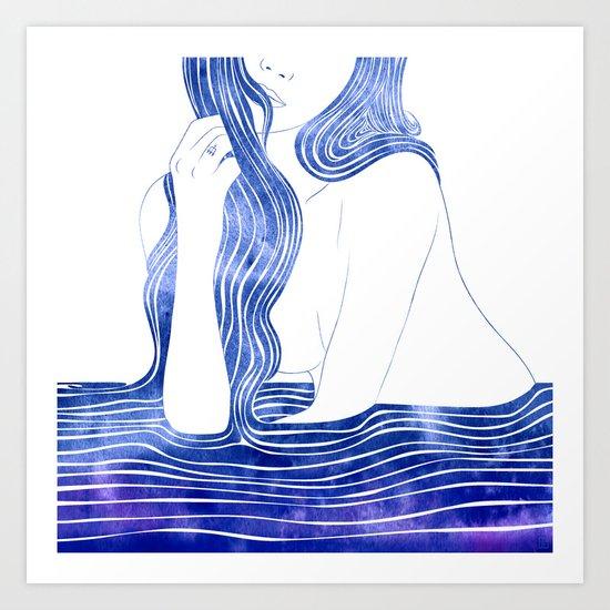 Nereid XV Art Print