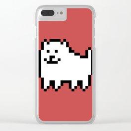 Underdog II Clear iPhone Case
