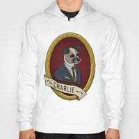 charlie Hoodies featuring Charlie by Kyle Hurley