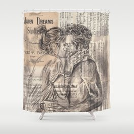 Morning Kiss Shower Curtain