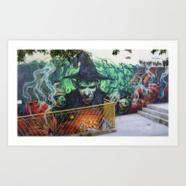"""Magic Poison"" Art Print"