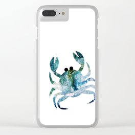 Crabby Clear iPhone Case