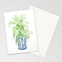 Ginger Jar + Maidenhair Fern Stationery Cards