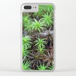 Living in Little Worlds Clear iPhone Case
