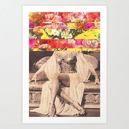 Mundial Floral Art Print