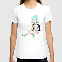 gameboy T-shirts featuring Gameboy Babe by A leskiweejus