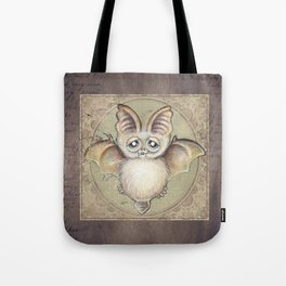 P.P.strello  - the bat Tote Bag