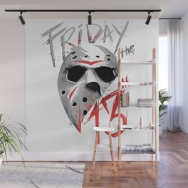 Friday The 13th Wall Mural