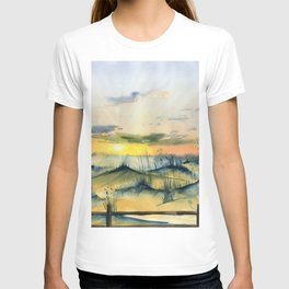 Sunset Over The Dunes T-shirt