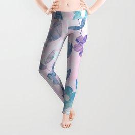 Watercolor Floral Leggings