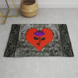 Music For The Soul Gothic Art Rug