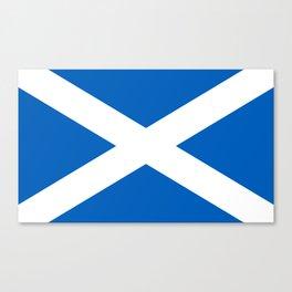 Flag of Scotland - Scottish Flag Canvas Print