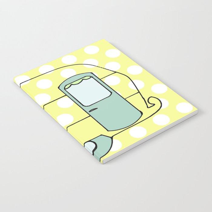 Polka Dot Caravan V4 Notebook