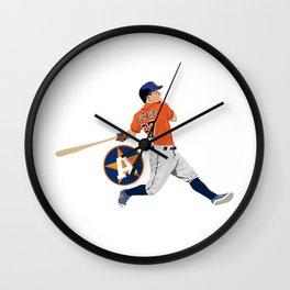 Altuve Wall Clock
