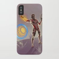 engineer iPhone & iPod Cases featuring Mass Effect 3- Engineer Propaganda by Joe Byrne