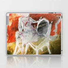 Woman & Chair Laptop & iPad Skin