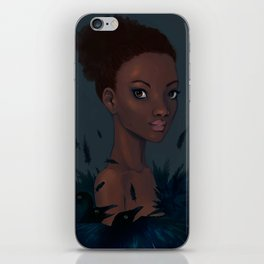 Loved by Crows iPhone Skin