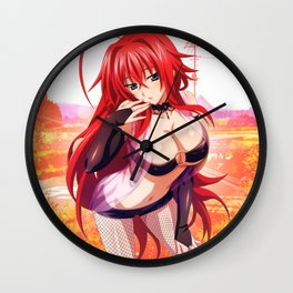 High School DxD - Rias Gremory VVI Wall Clock