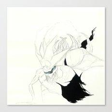 UnHuman#12 Canvas Print