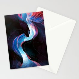 Evening at Antelope Canyon Stationery Cards