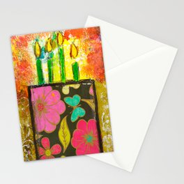 Birthday Bouquet Stationery Cards