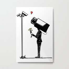 True Love. Metal Print
