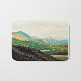 Denali Mountains Bath Mat