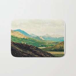 Denali Mountains Bath Mat