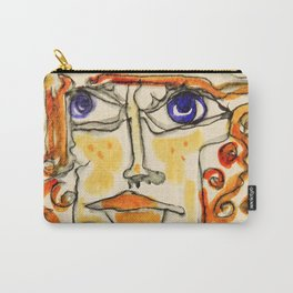 Of Lines and Swirls and Twirls and Curls Carry-All Pouch