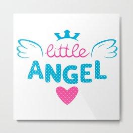 LITTLE--ANGEL Metal Print