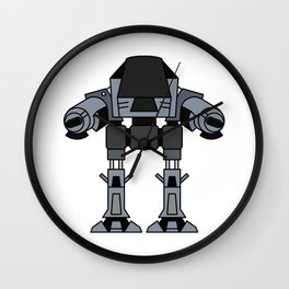 ED 209 Wall Clock